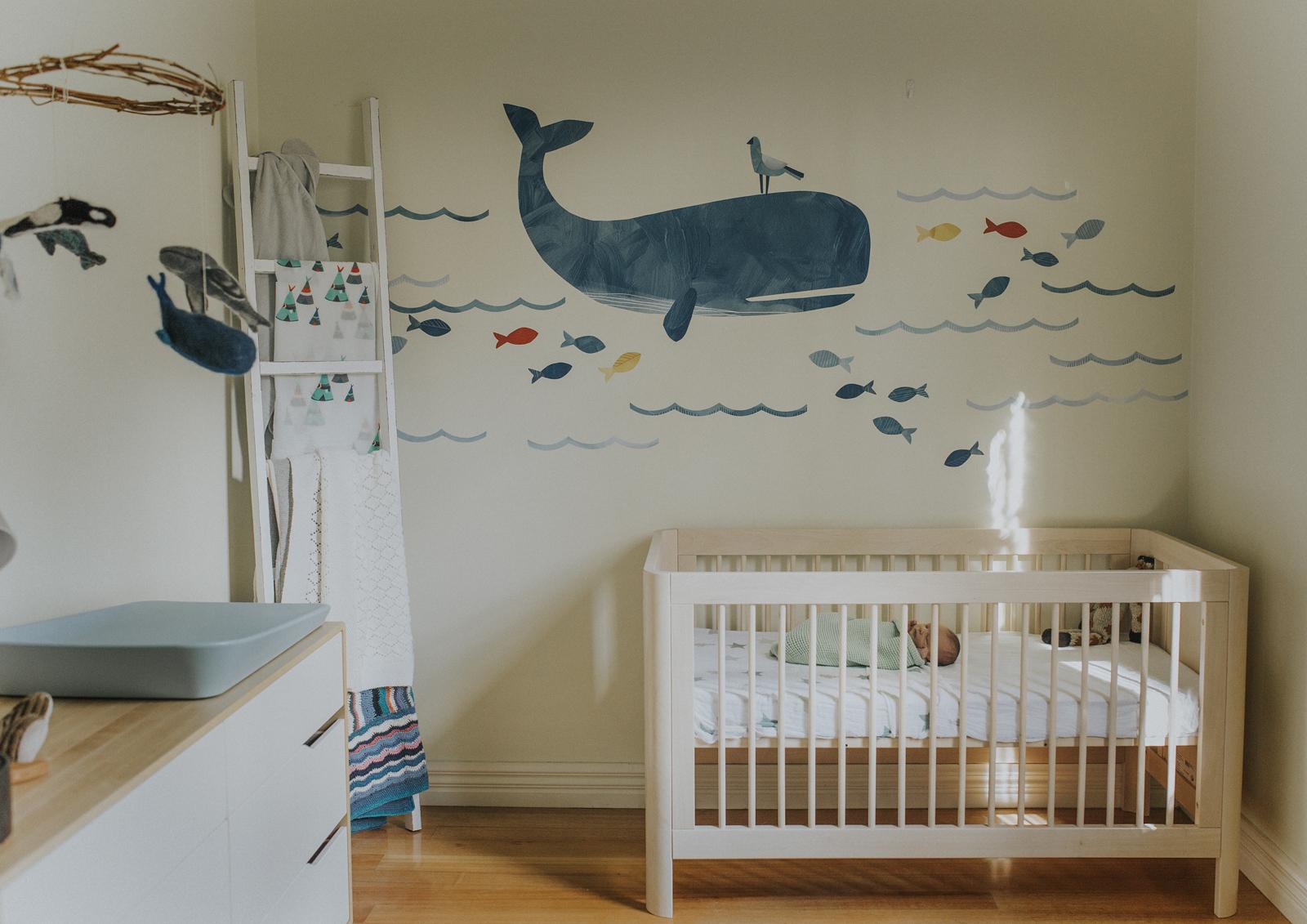 Newborn baby boy's nursery!