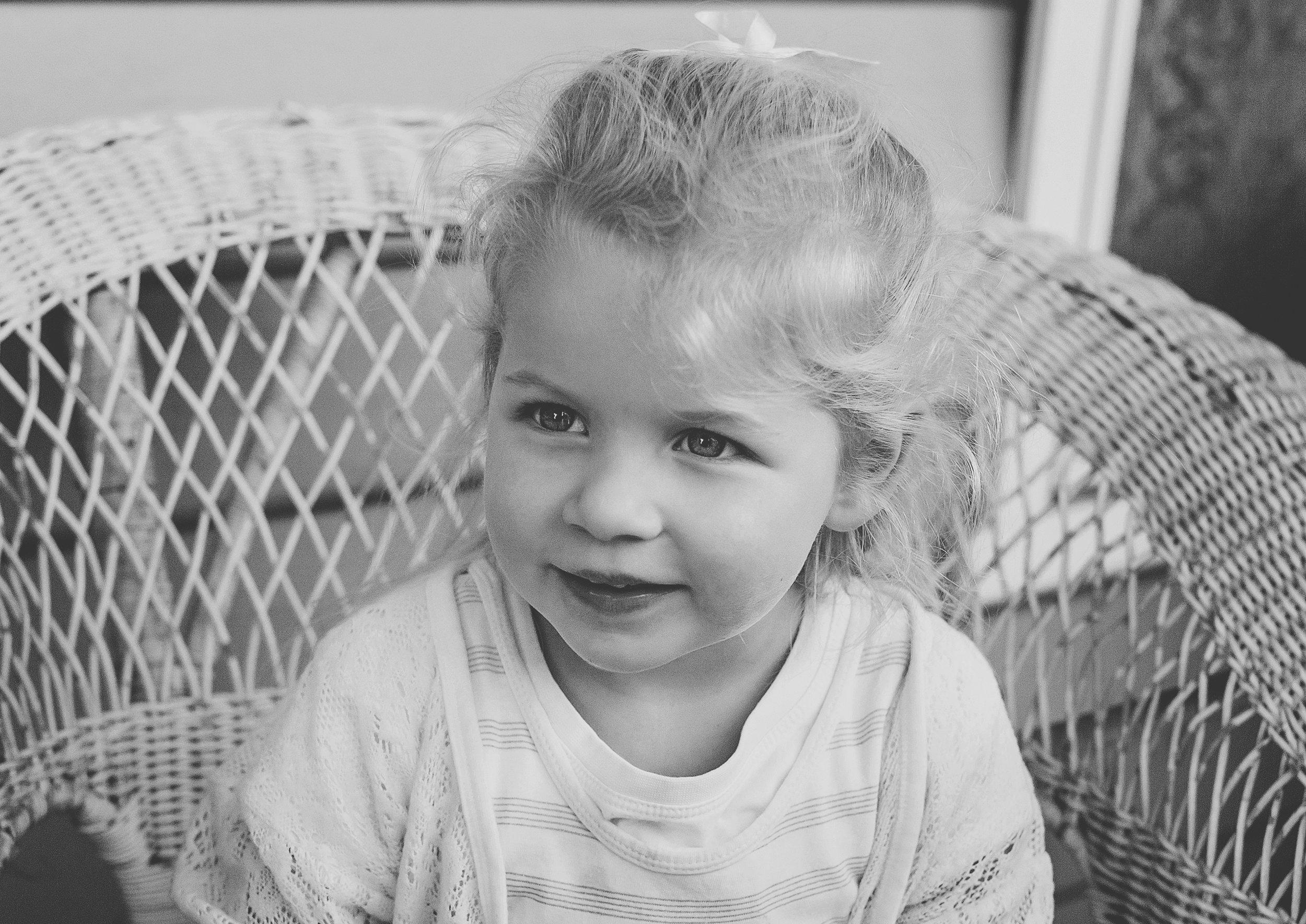 Portrait photo of little toddler!