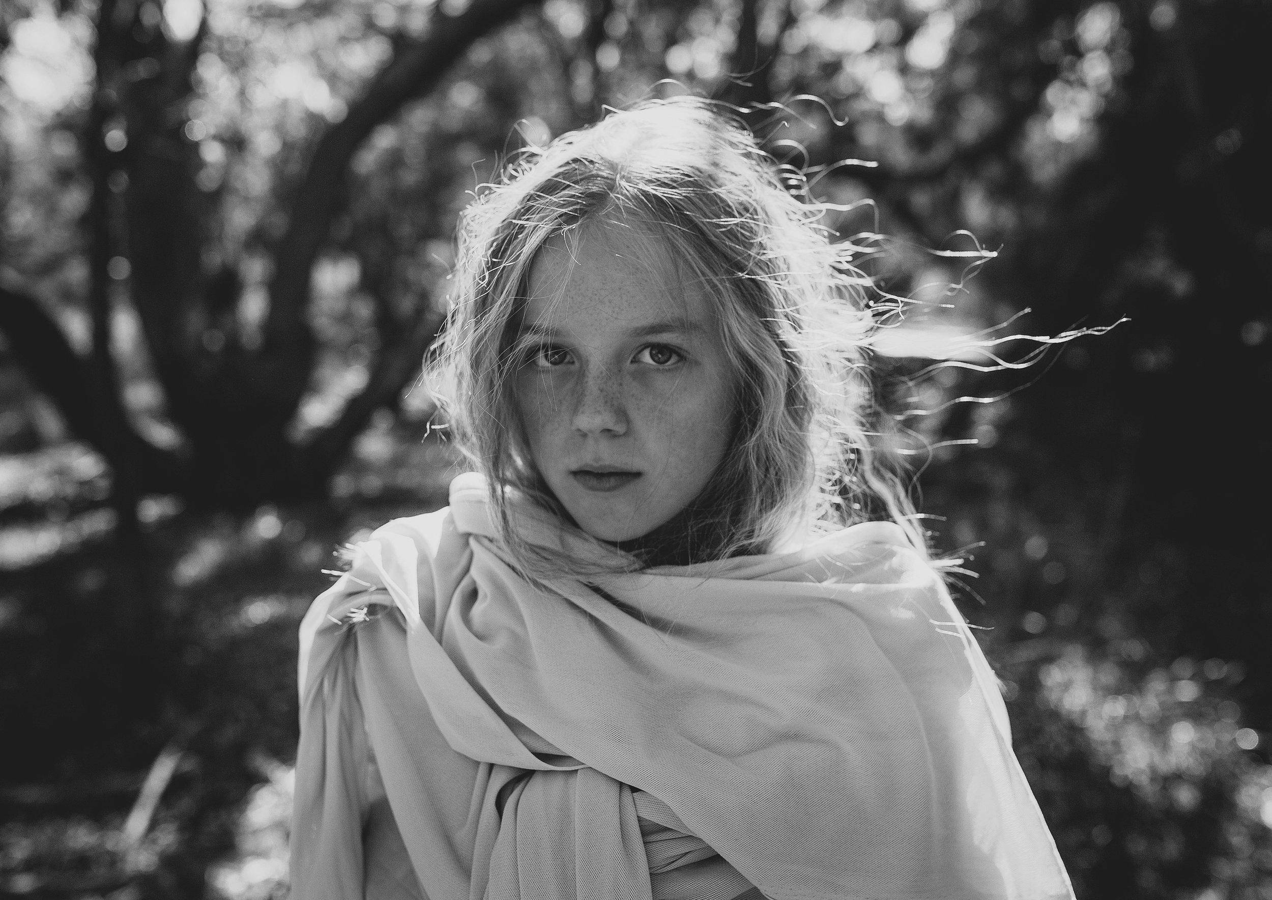Black and White Tween photo