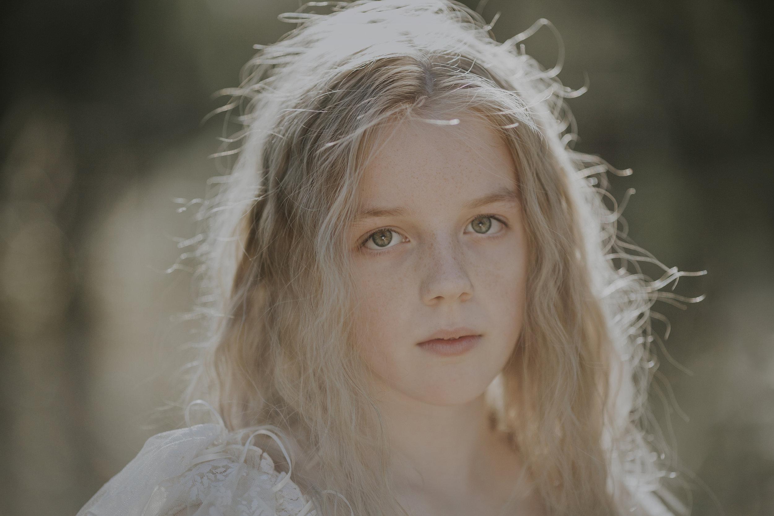 Portrait Photo of Tween Girl