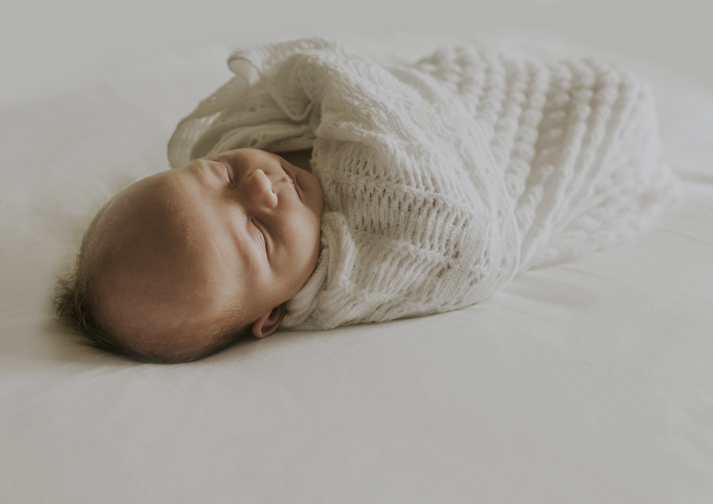 Sleeping Newborn Baby boy!