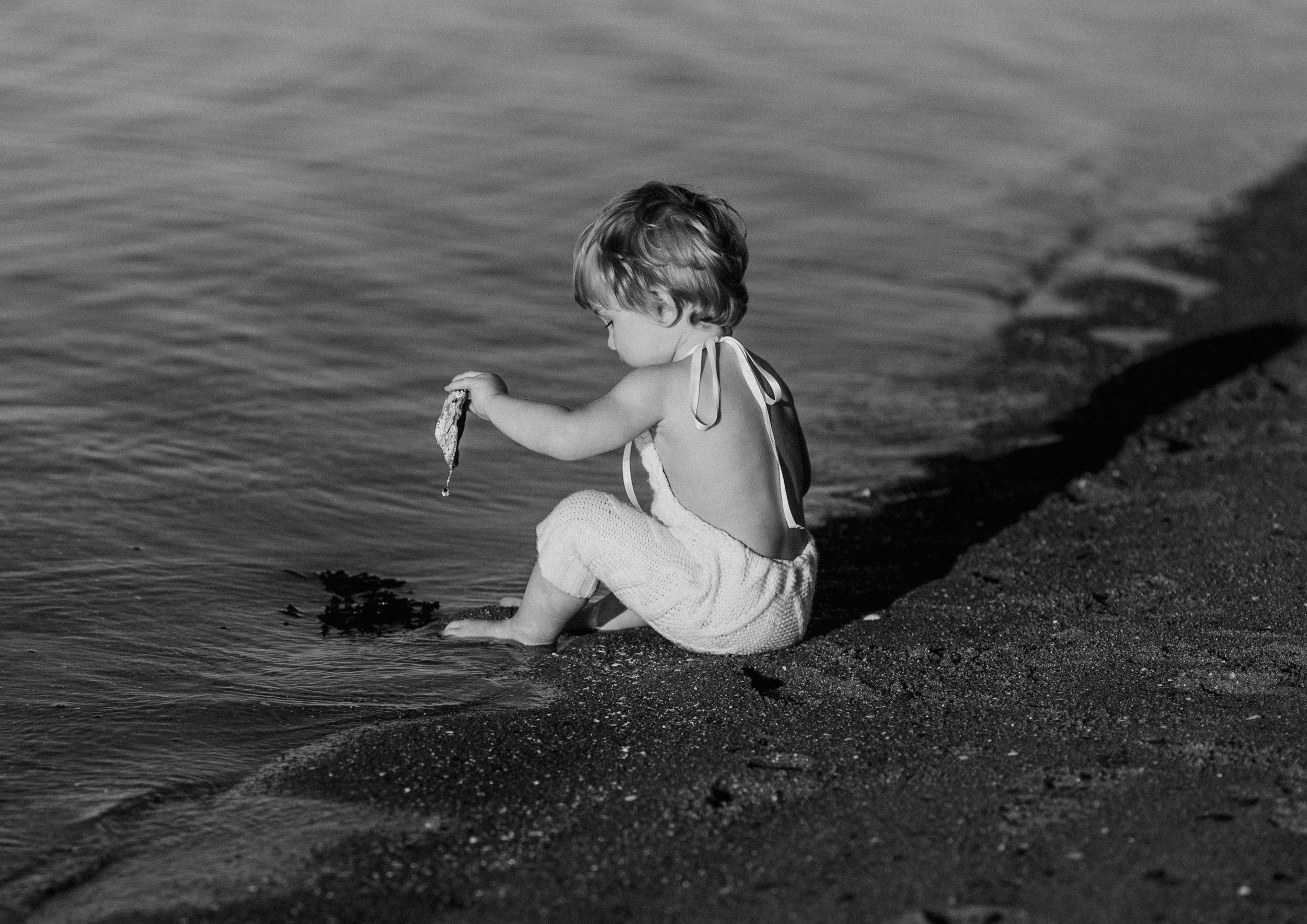 Natural Toddler Photography Bayside