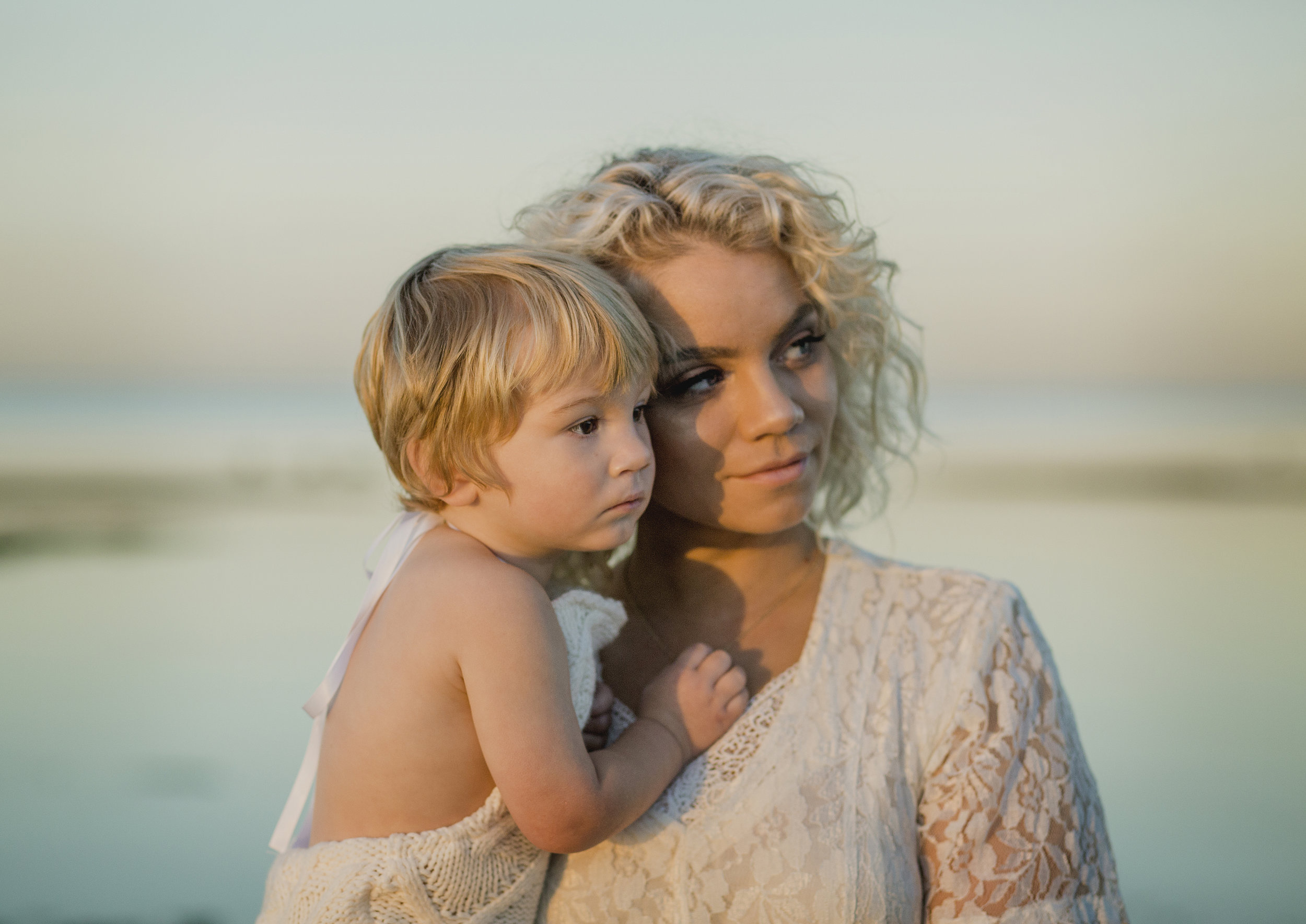 Family Sunrise photo shoot at the beach