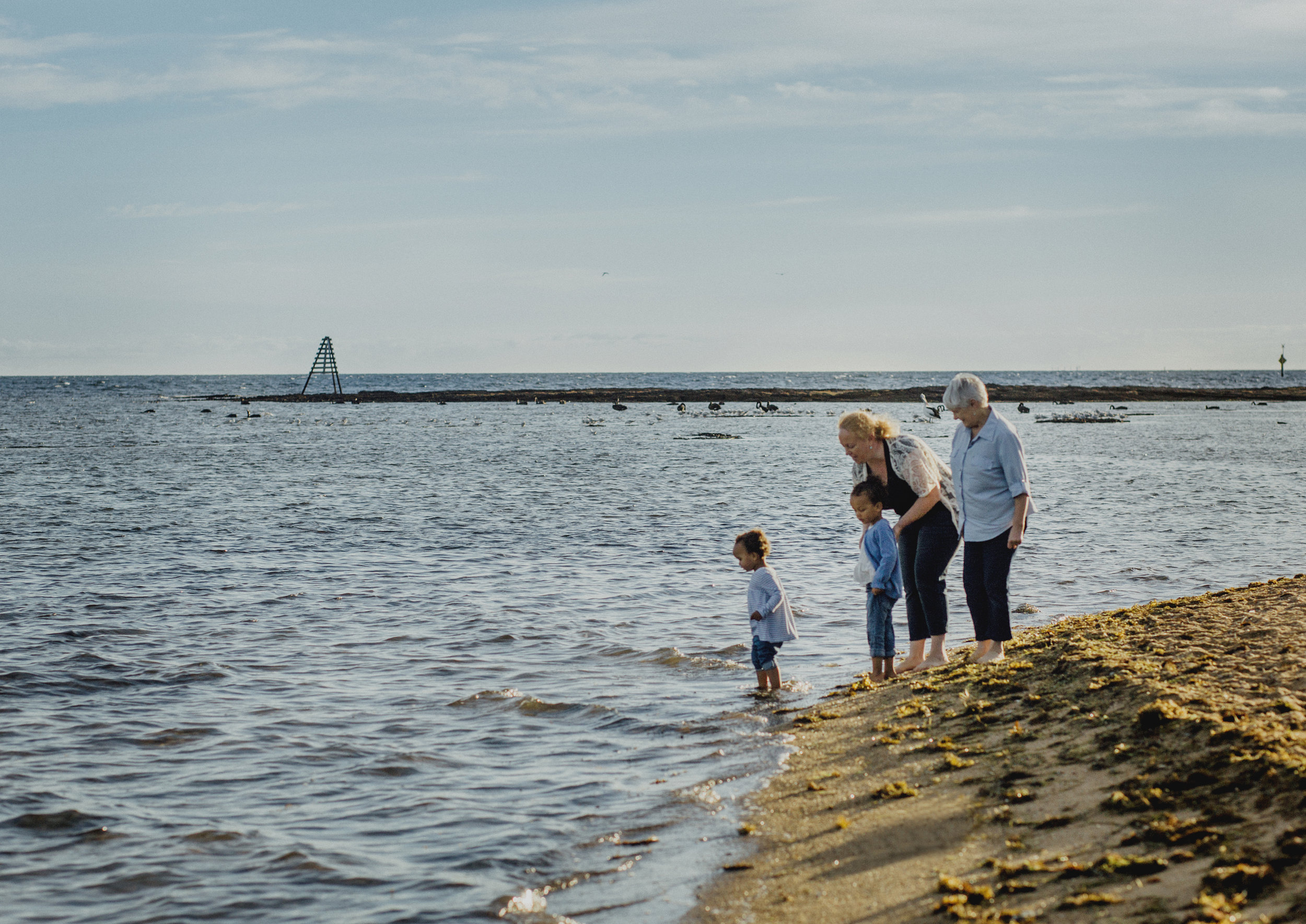 Family Shoot down at the beach