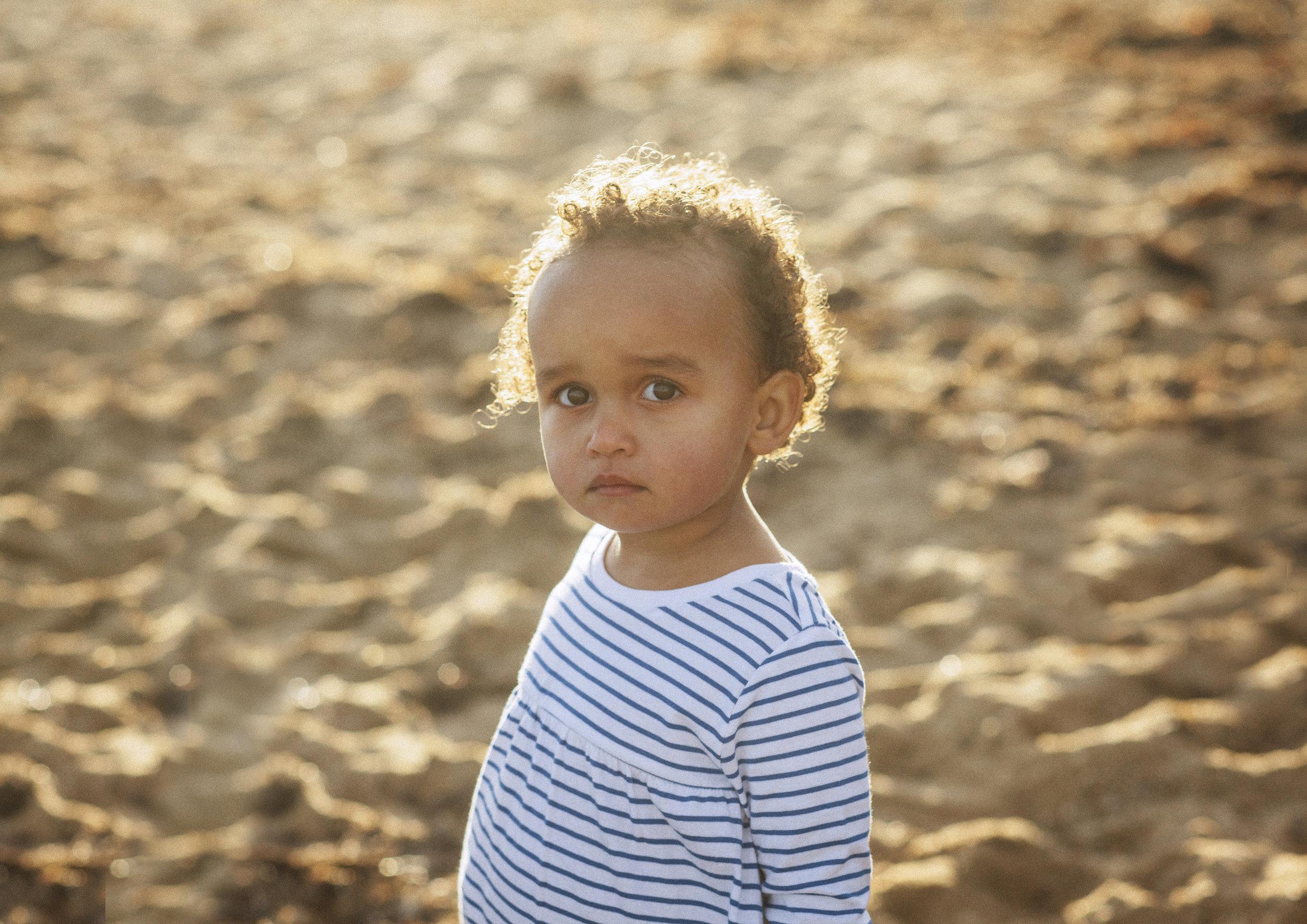 On Location Child Portrait Photography Bayside