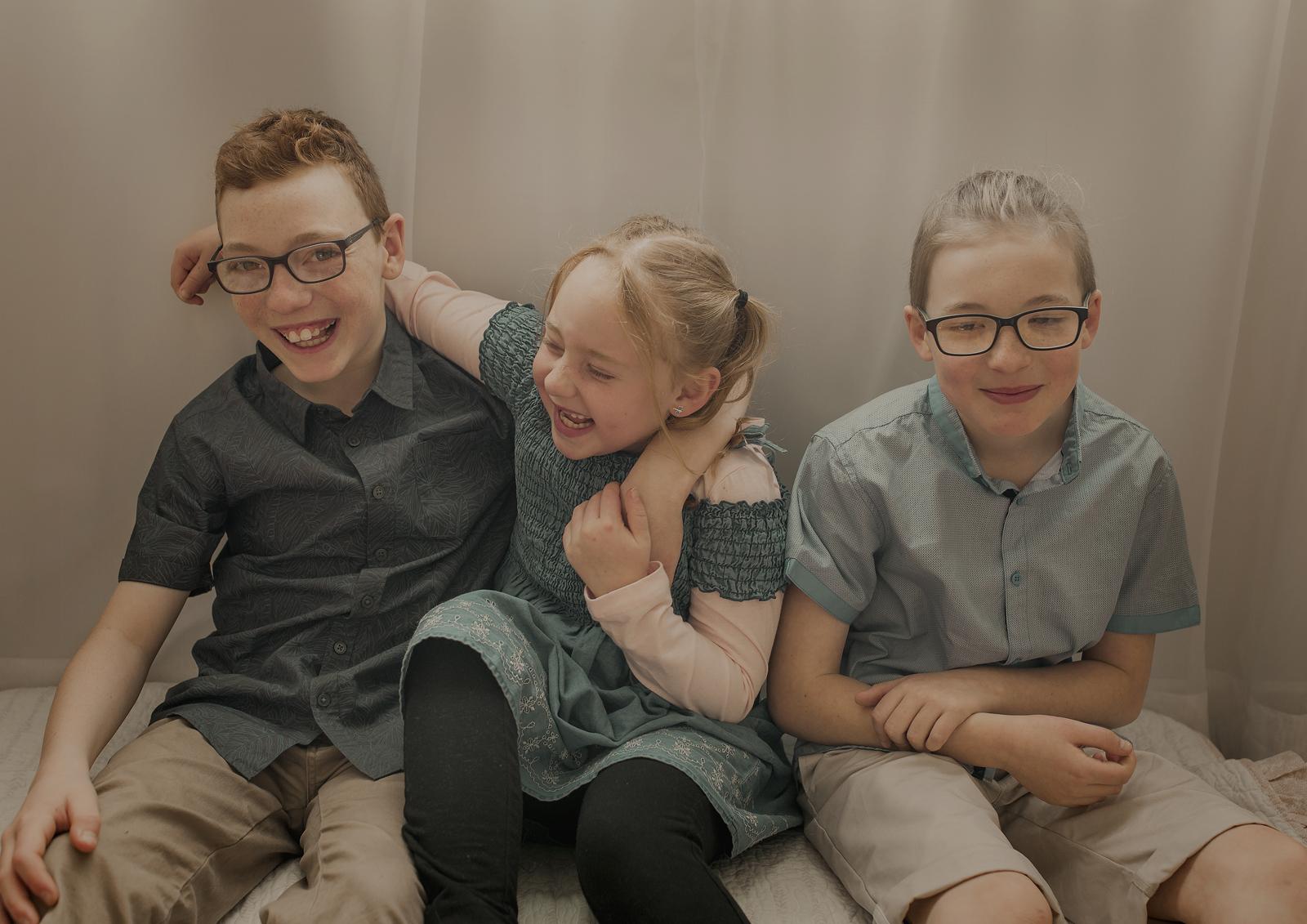 Family tickles!