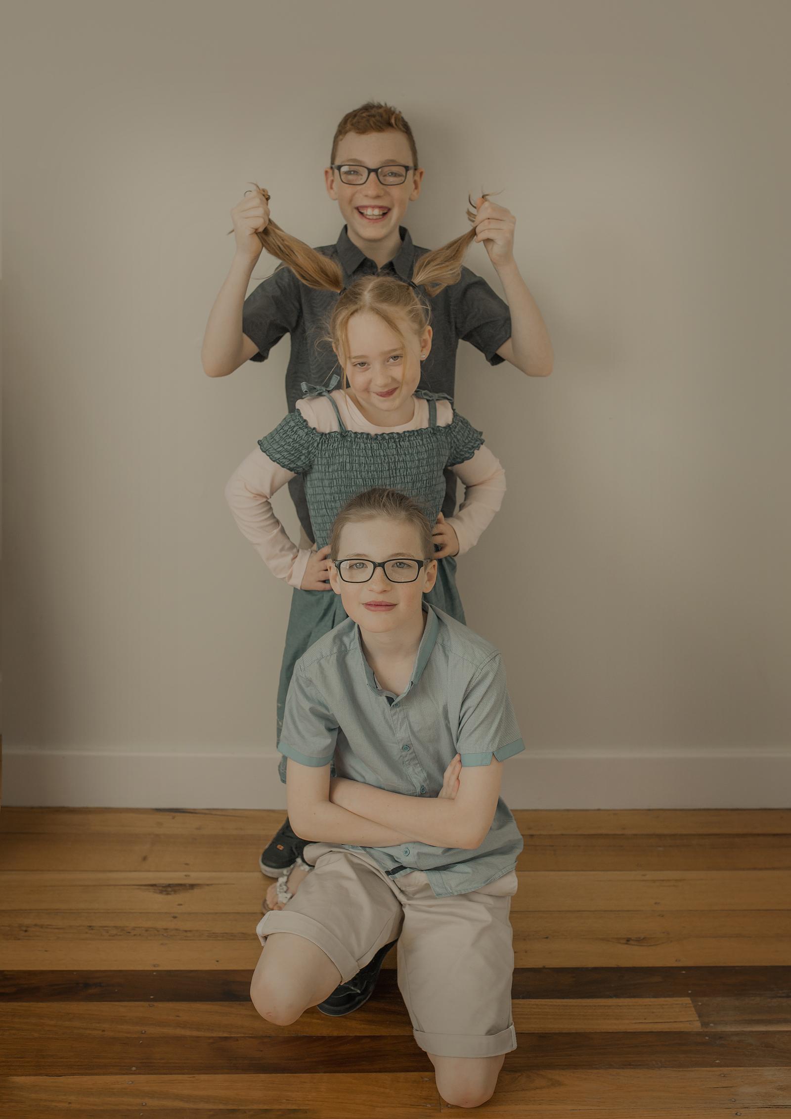Cheeky family photos!