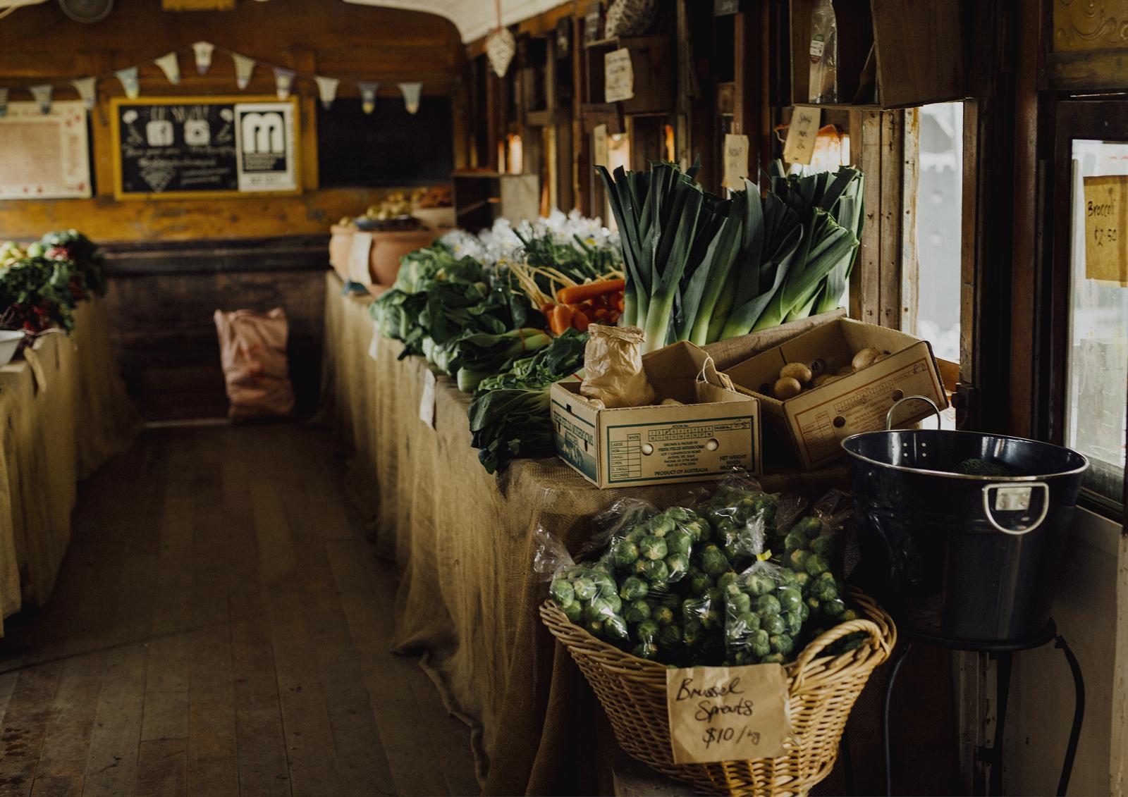 Benton Rise Farm fresh produce