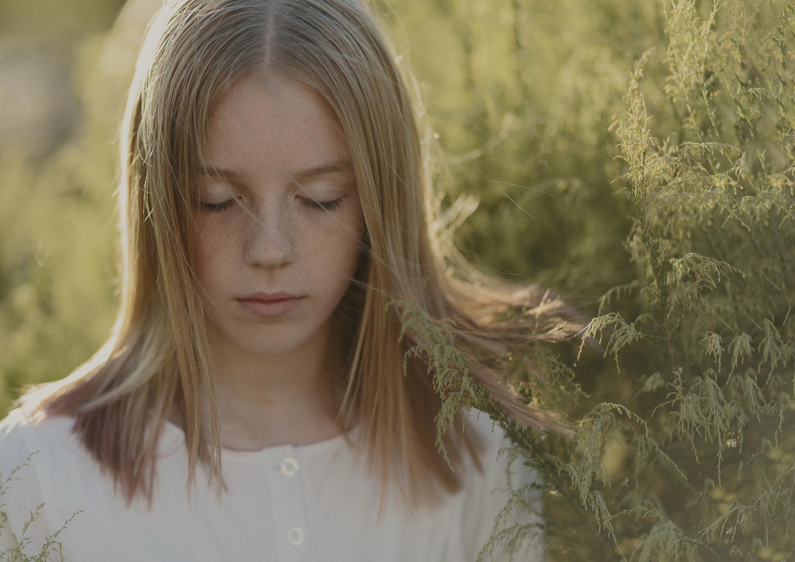 Teenage Fine Art Portraiture Melbourne
