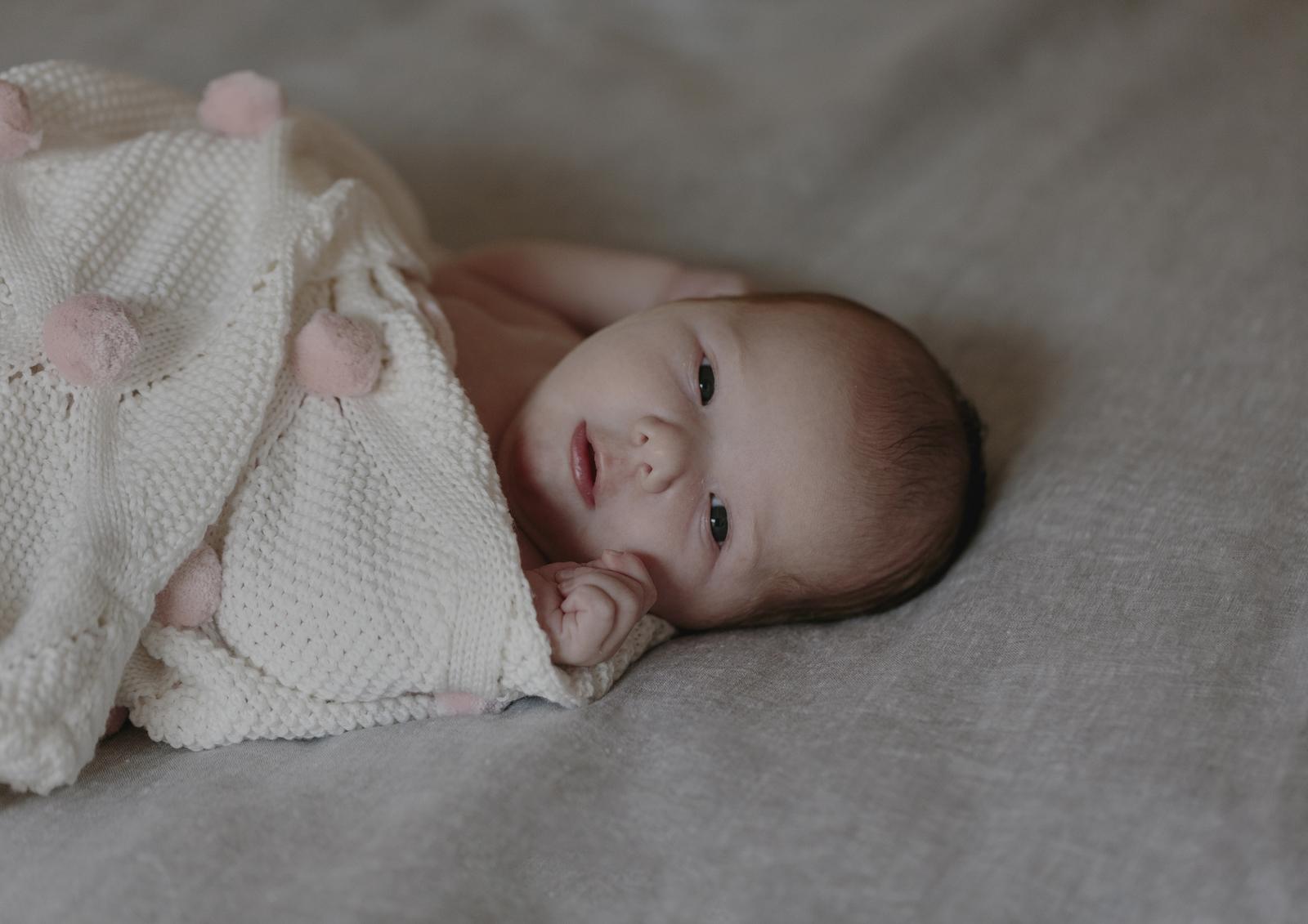 Tiny Newborn Baby girl