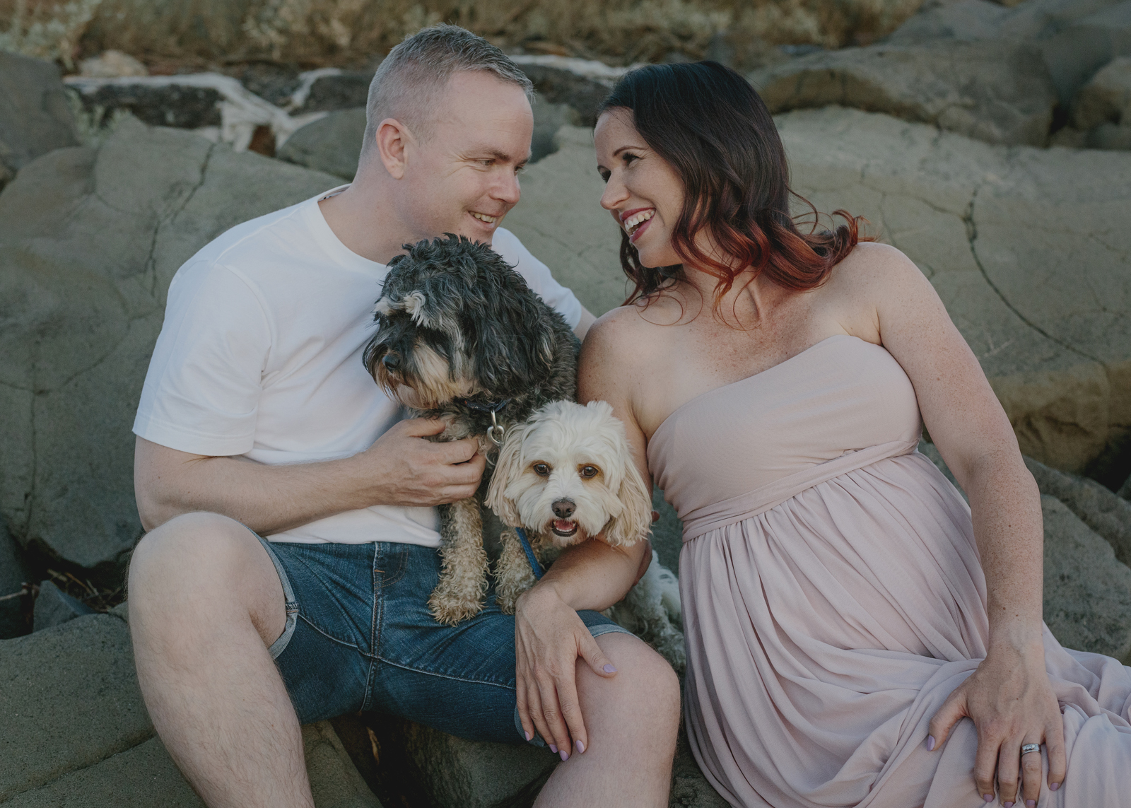 Brighton Beach Maternity Photo shoot