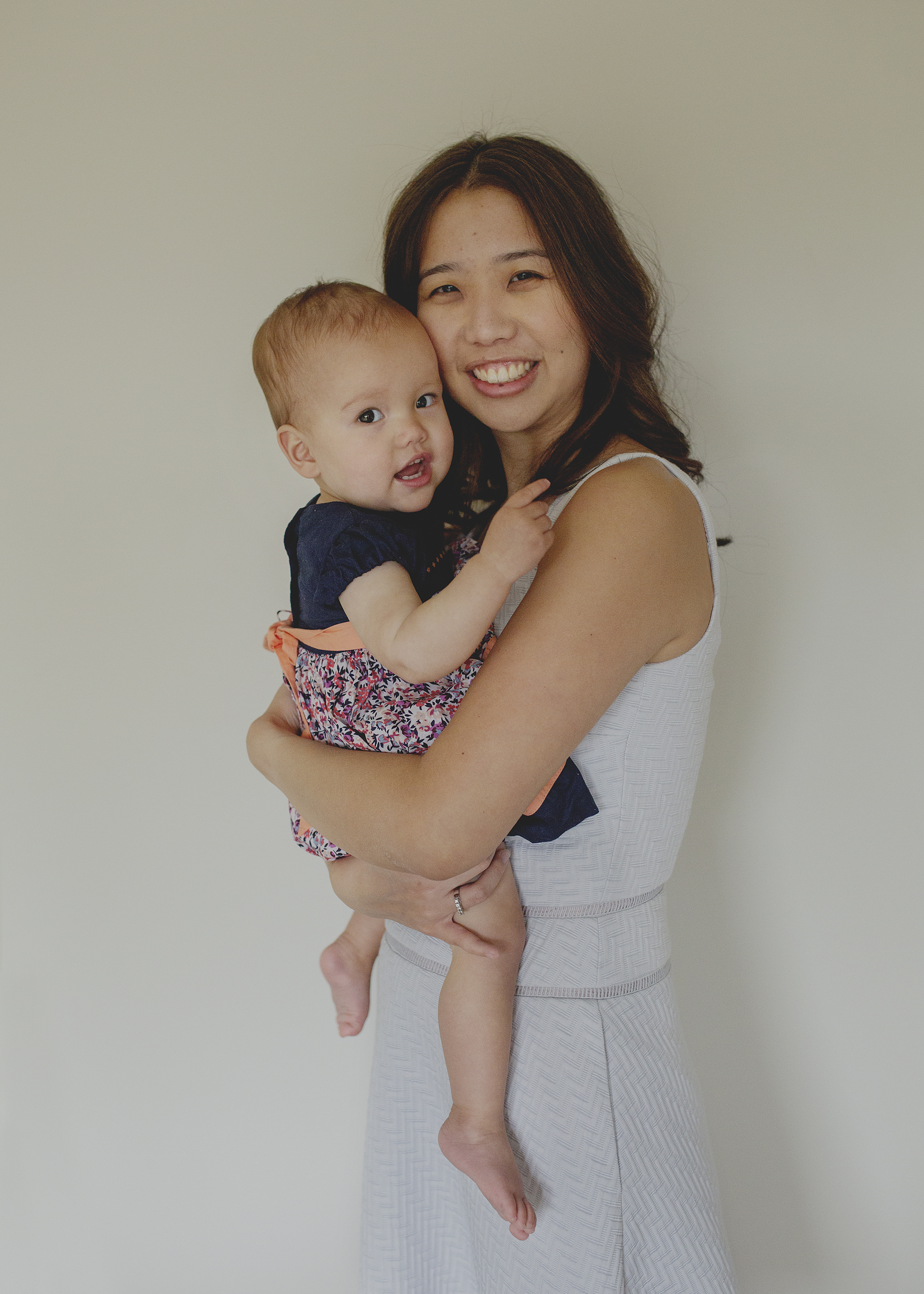 Mummy and her one year old baby girl