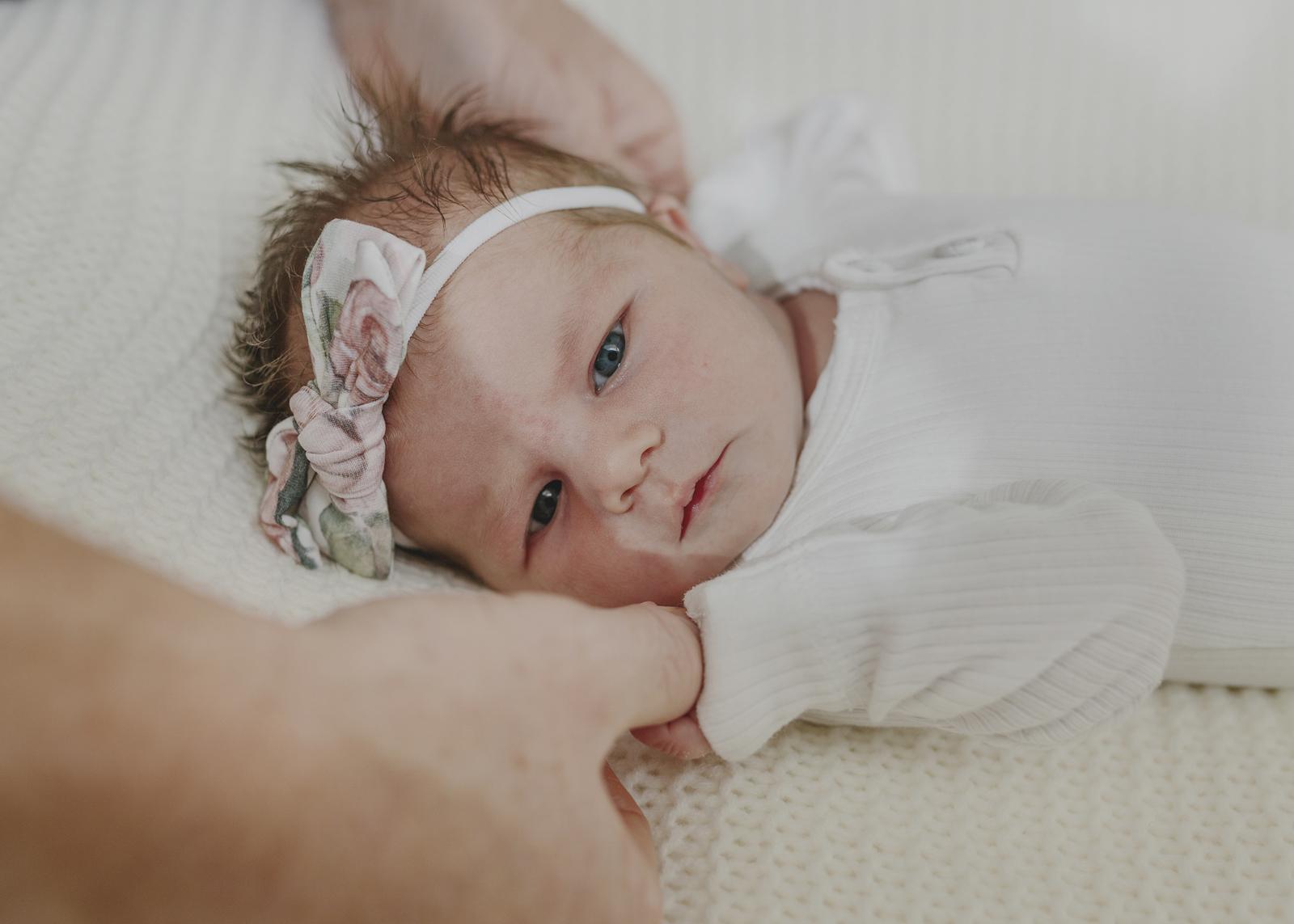 Newborn Baby Girl's Tiny details