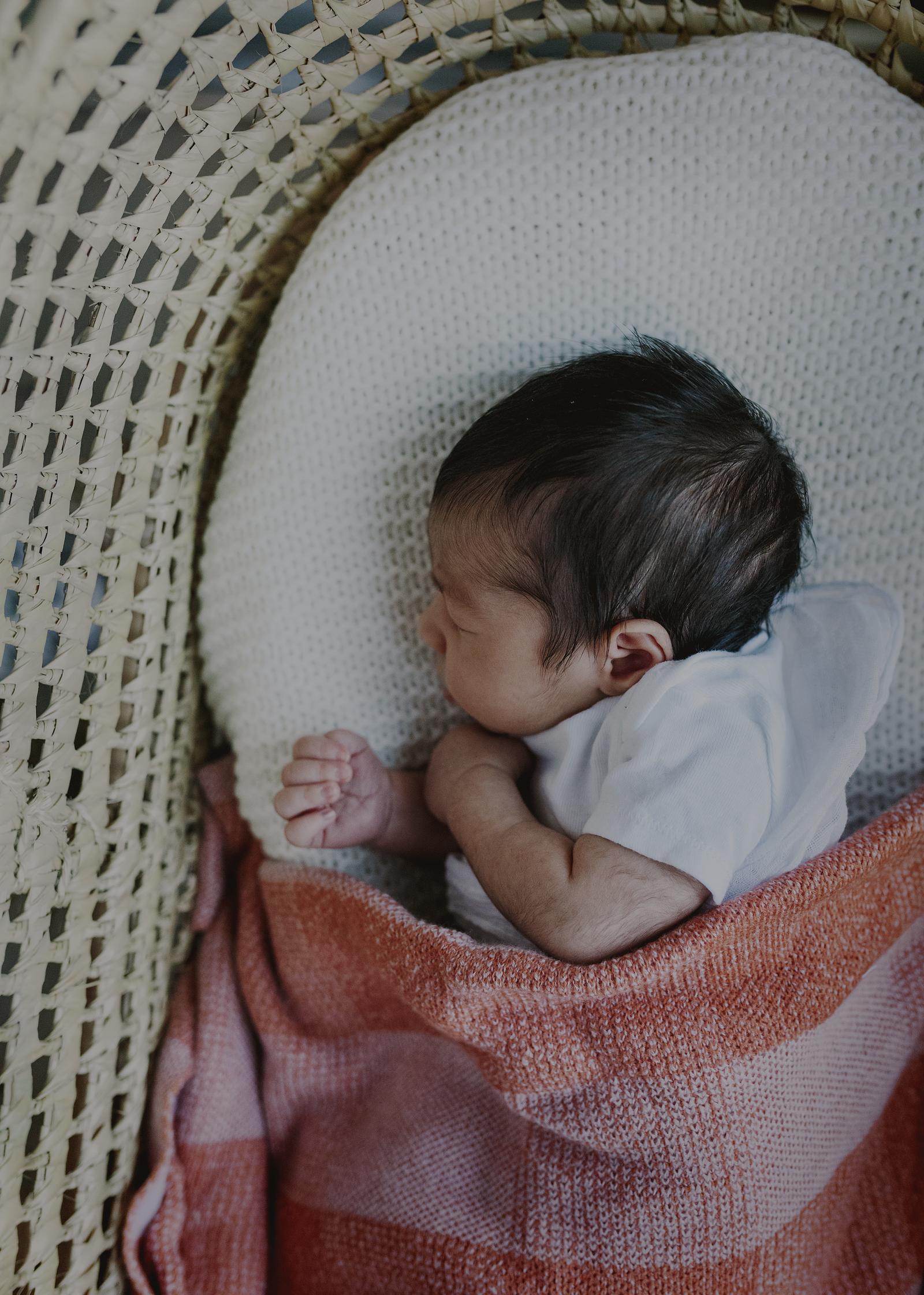 Sleeping Newborn Baby boy