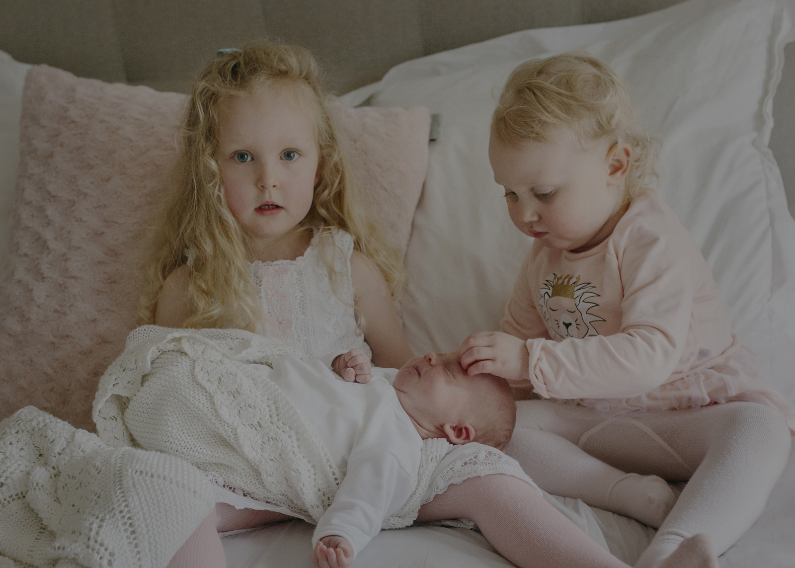Loves for their newborn baby sister