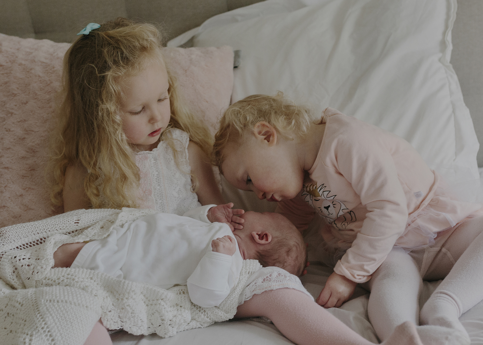 Newborn Baby Sister loves