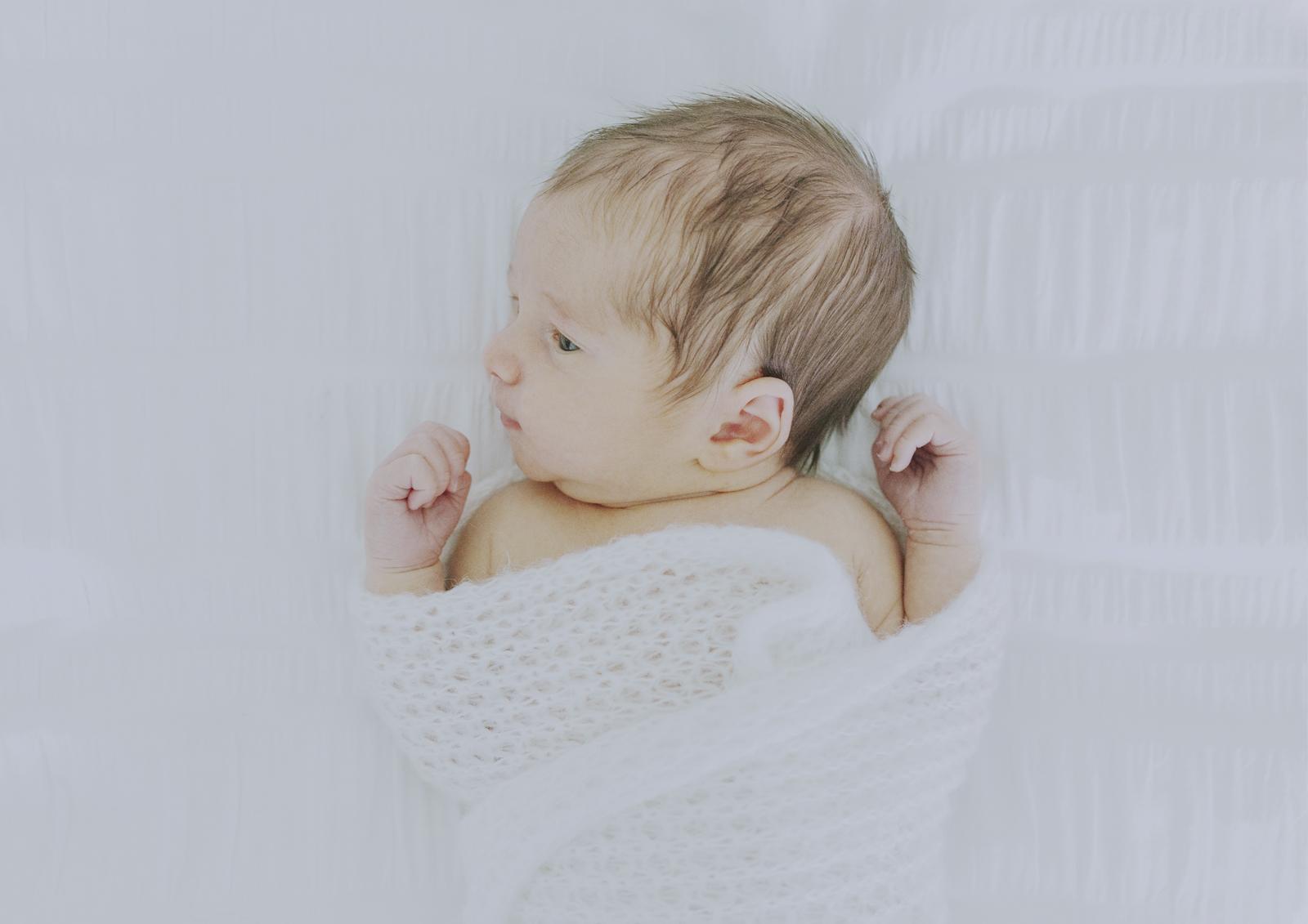 10 day old newborn baby boy
