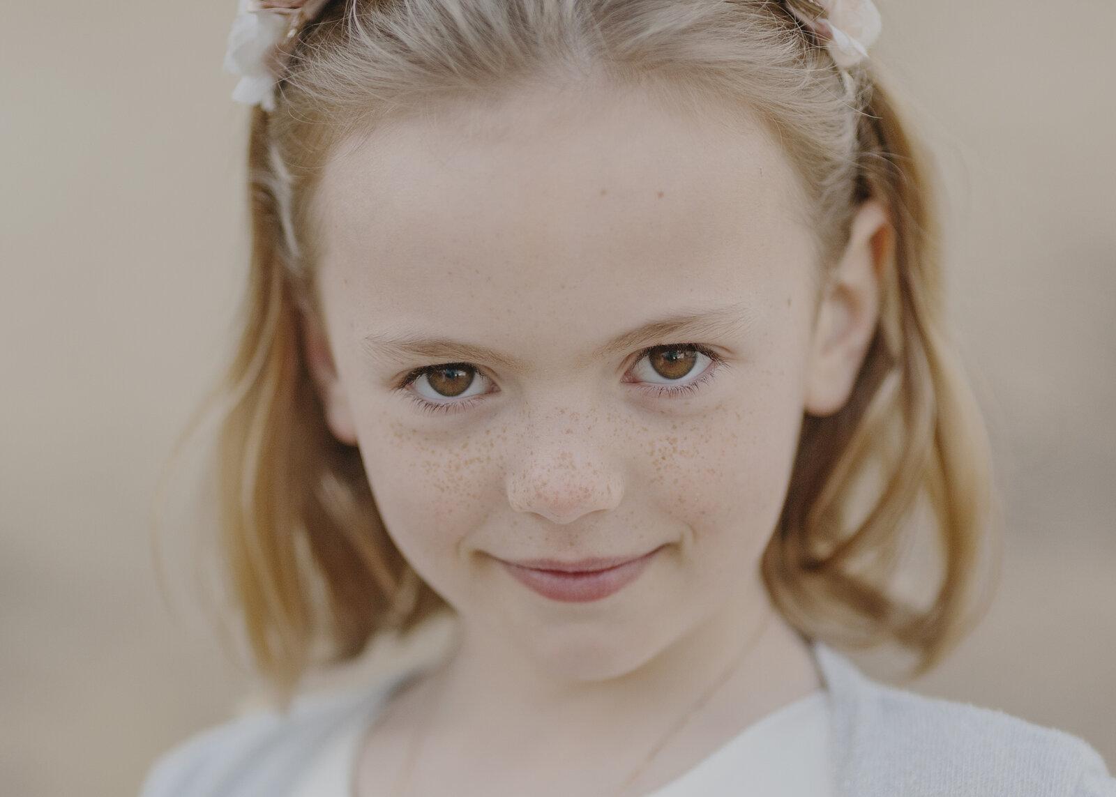 7 year old girl