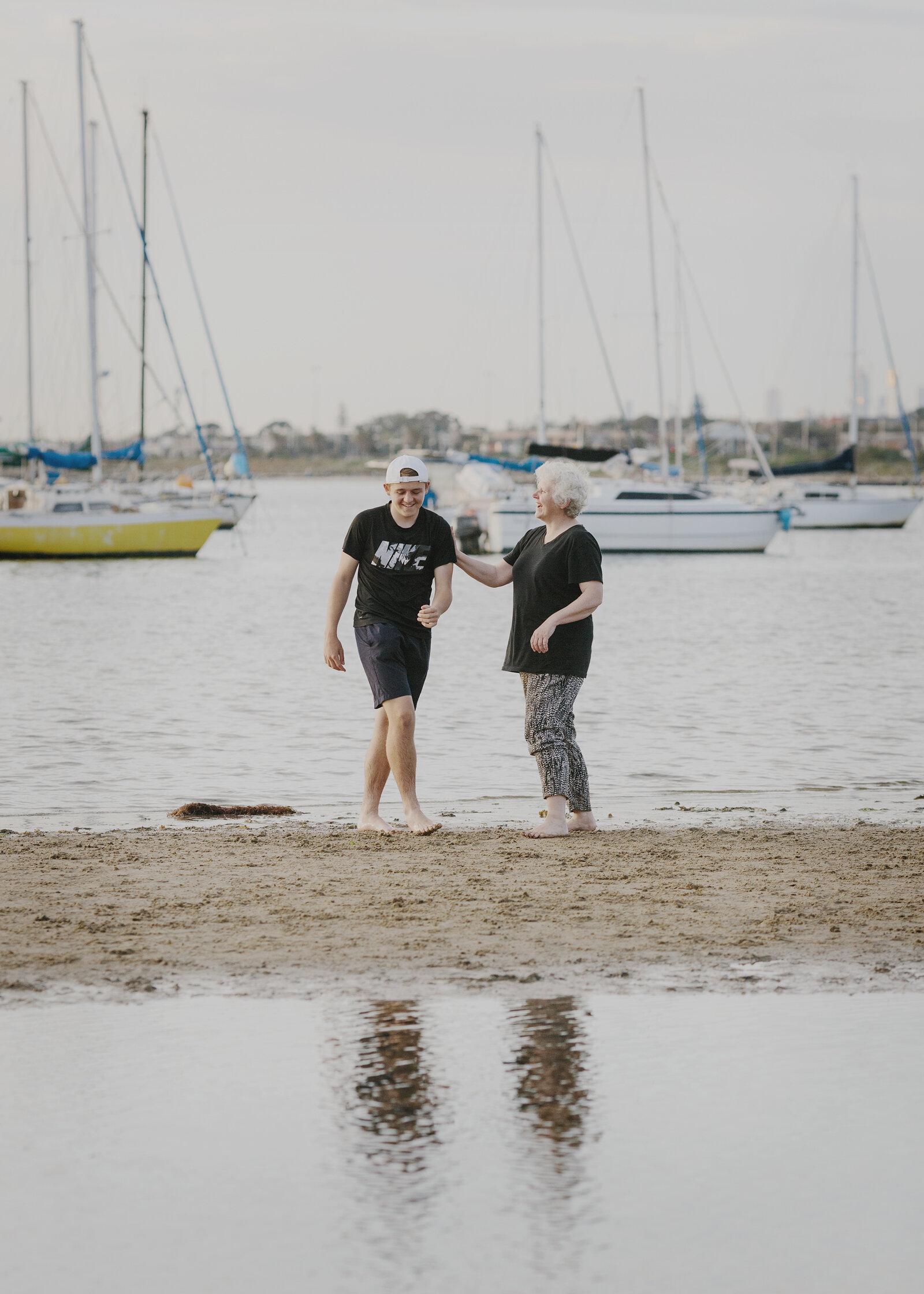 Family Photo Shoot at the beach