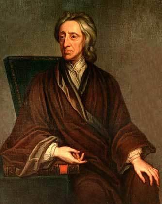 Philosopher John Locke (1643-1704), British Empiricist