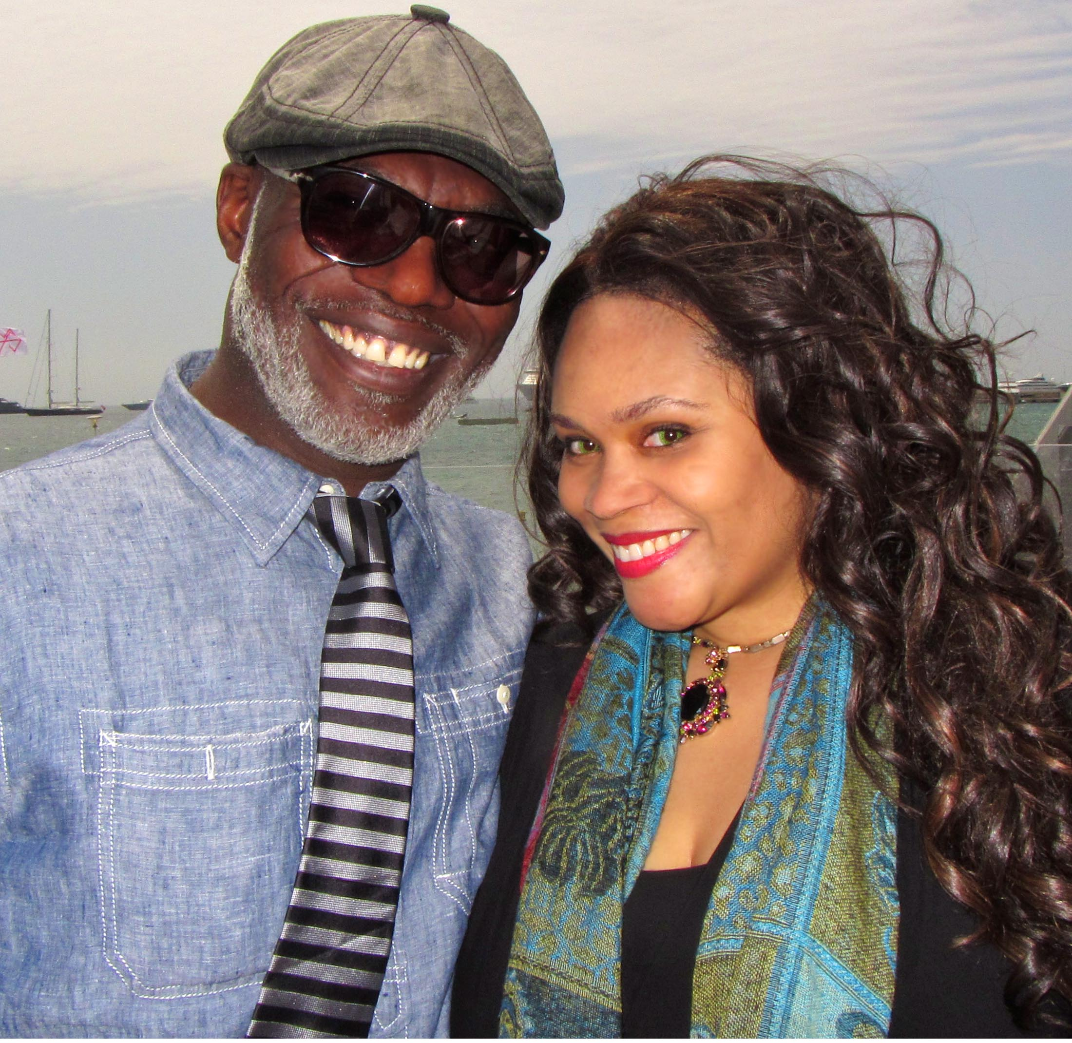 Actor Eriq Ebouaney & Princess Angelique Monét
