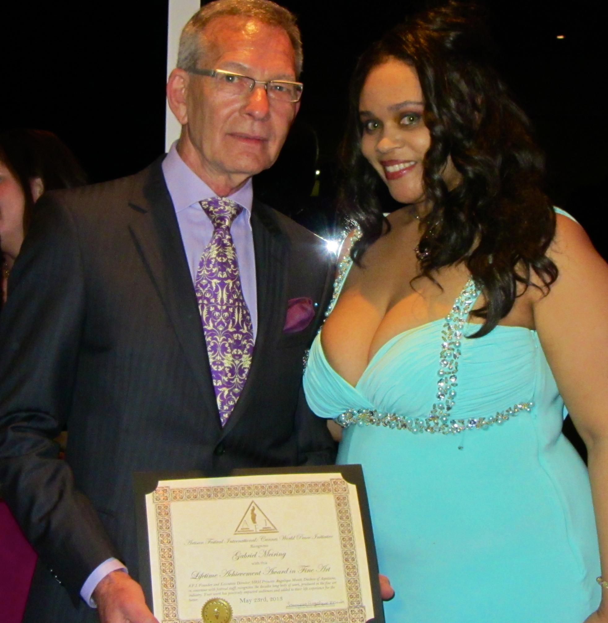 Gabriel Meiring             Lifetime Achievement Award in Art