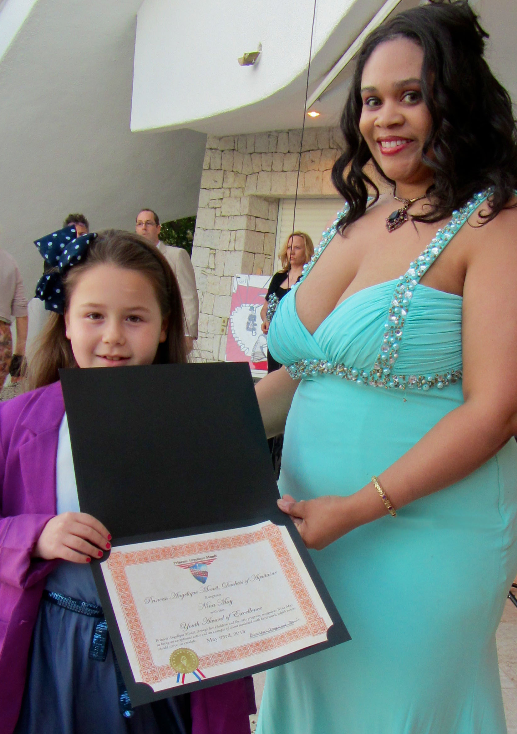 Nina May             Princess Angelique Monét     Young Excellence Award     from Children and the Arts Program