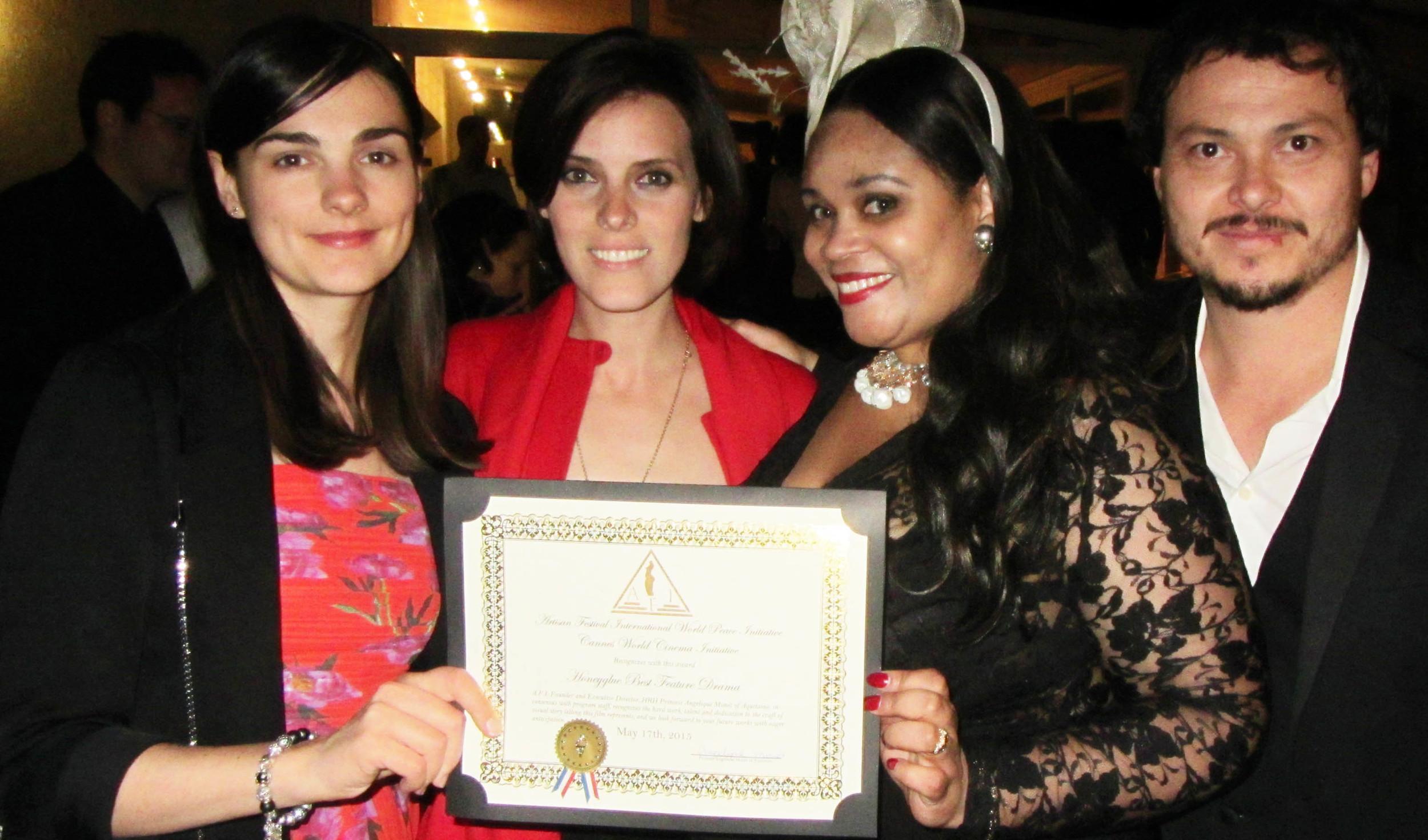 Honeyglue wins Best Feature Drama