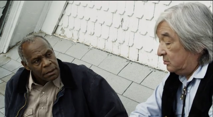"""Danny Glover and Graham Greene in Norry Nivens """"Chasing Shakespeare,"""" Written and Produced by James Bird.  AFI World Peace Initiative hosted the European World Premiere, and launched other festival runs including Public Relations."""