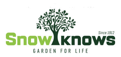 Image of Snow's Garden Center's logo in Charlottesville along with Christian's Lawn Care.