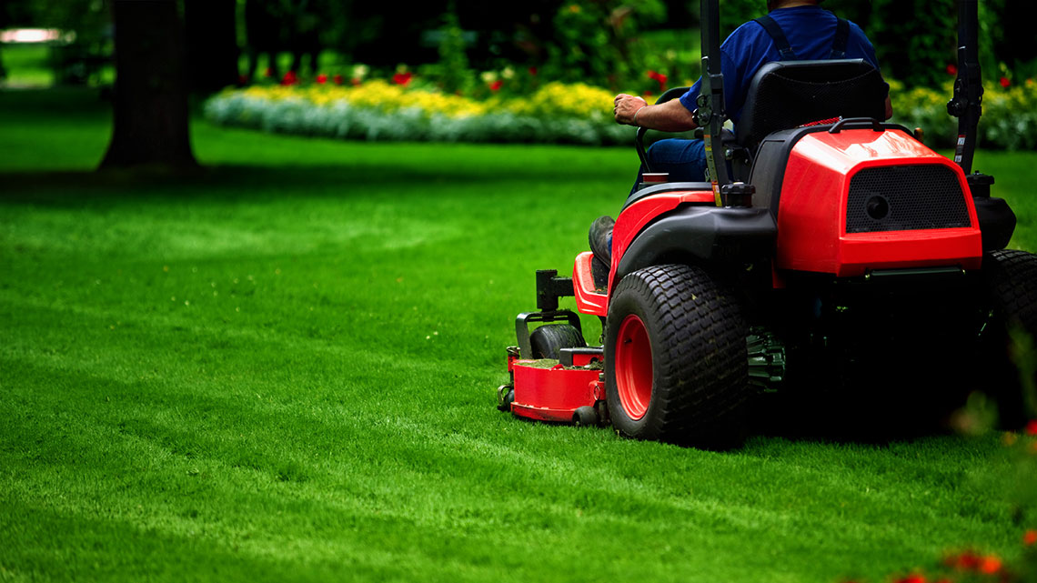 Mowing Service - One time & recurring grass cutting is our sweet spot. Get a quote today.