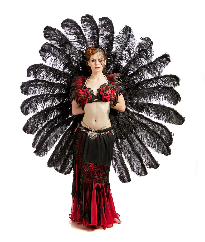 Chicago Burlesque dancer Eva LaFeva
