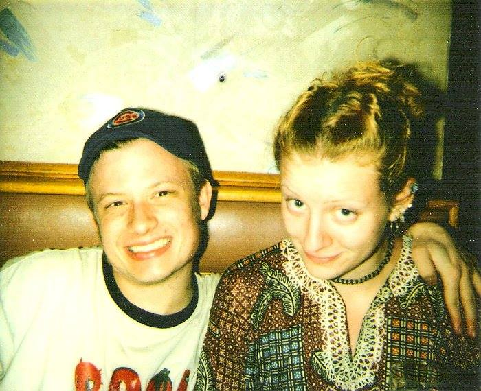 Deja Sue and I at the Golden Apple Circa 2001-ish