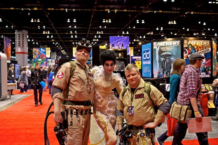 Alan, Red Rum, and myself at C2E2