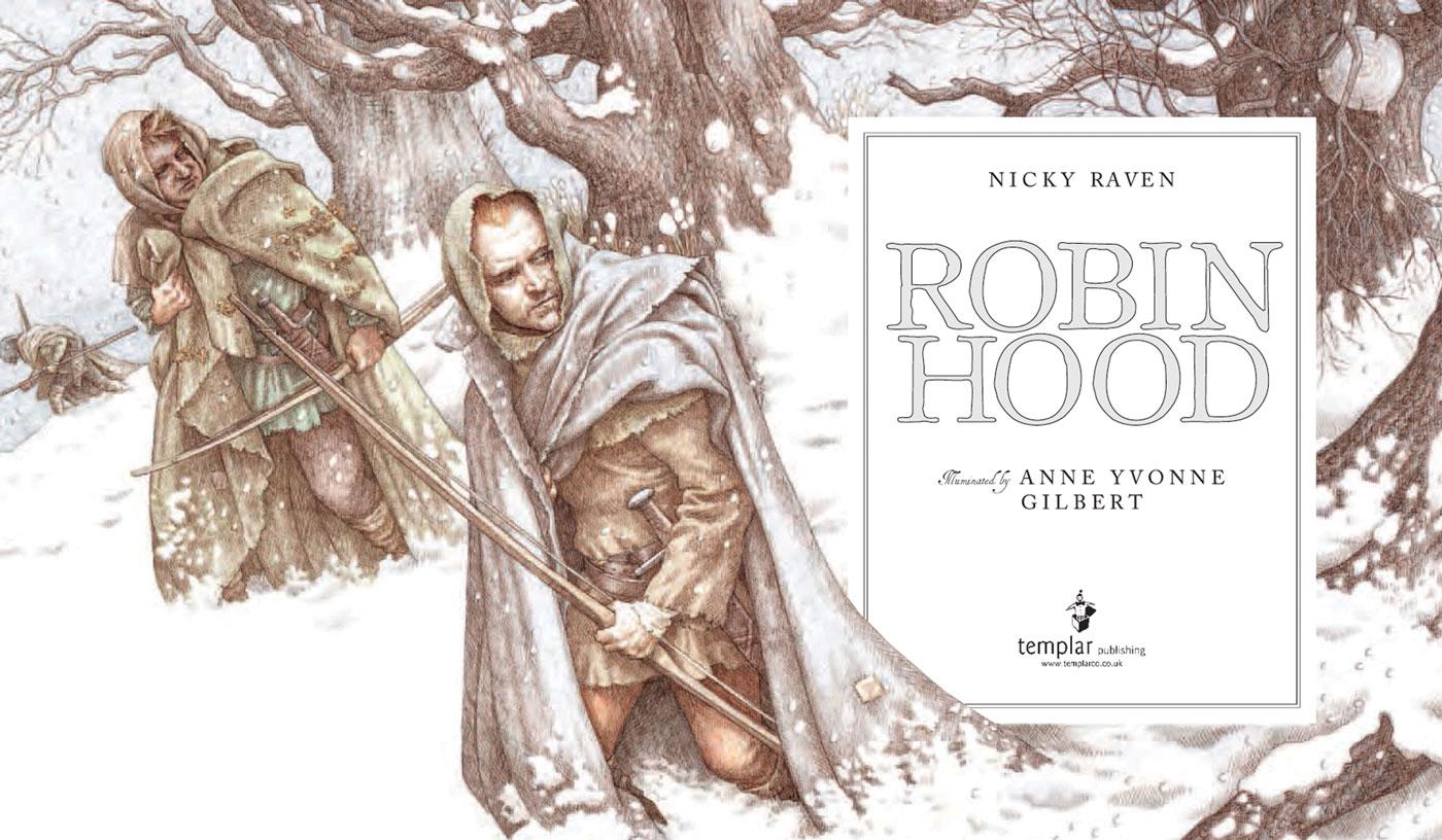 Robin Hood (Title Page)