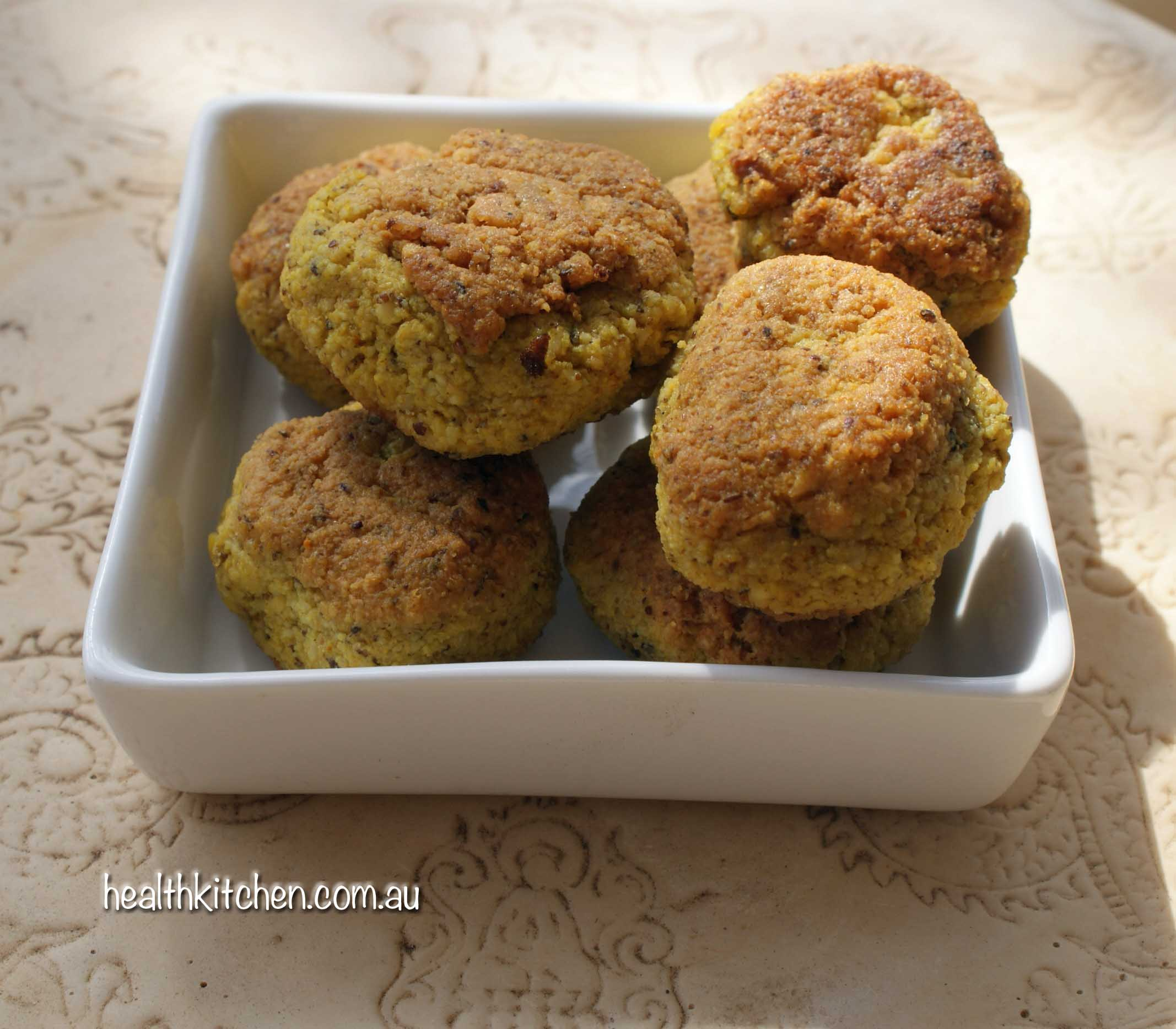 Spicy tofu balls are also great finger food at parties with sweet chilli dipping sauce.