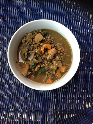 Lentil Stew - Feed Your Gut Microbes Health Kitchen