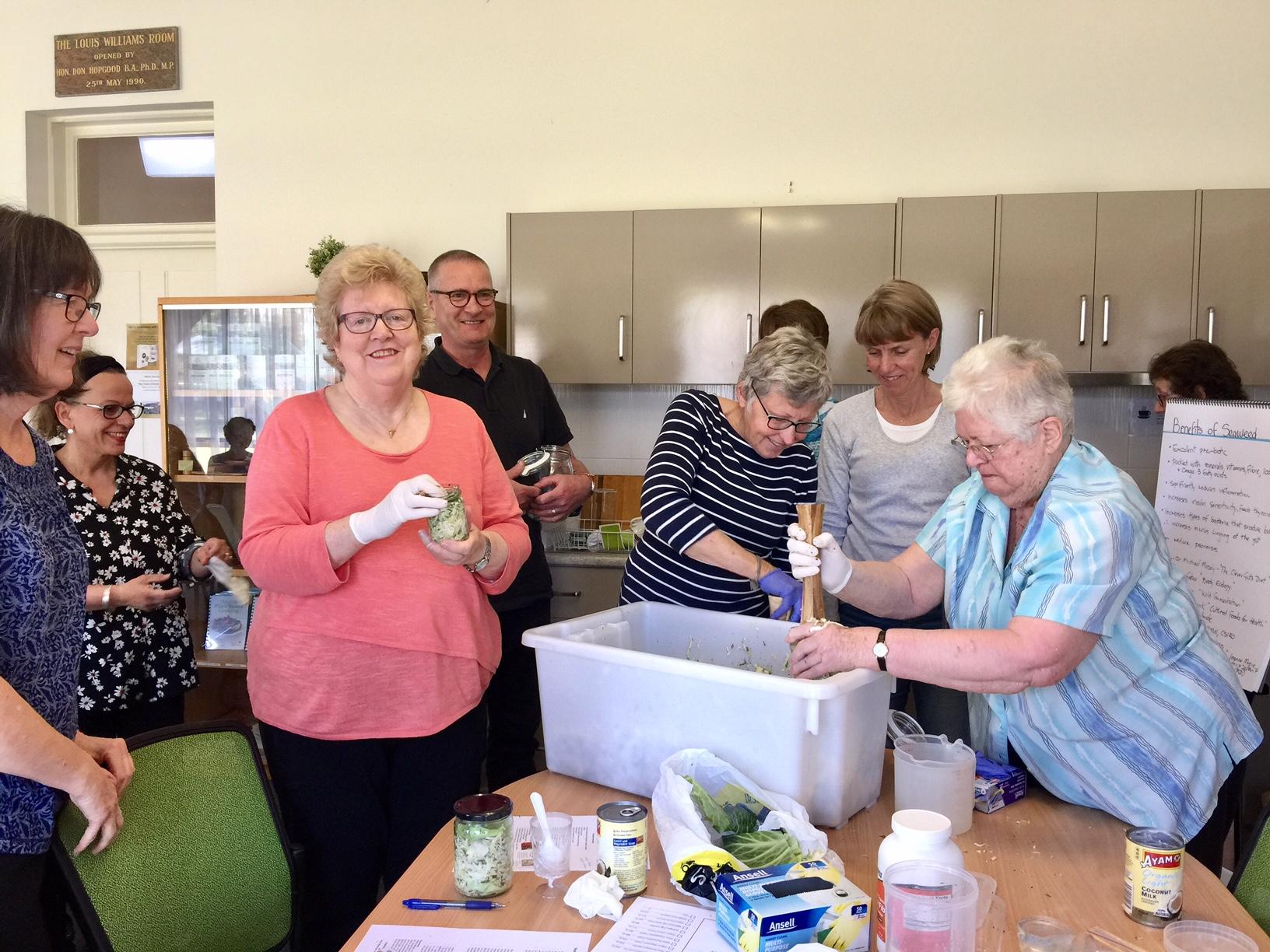 Fermented foods workshops cancer care centre