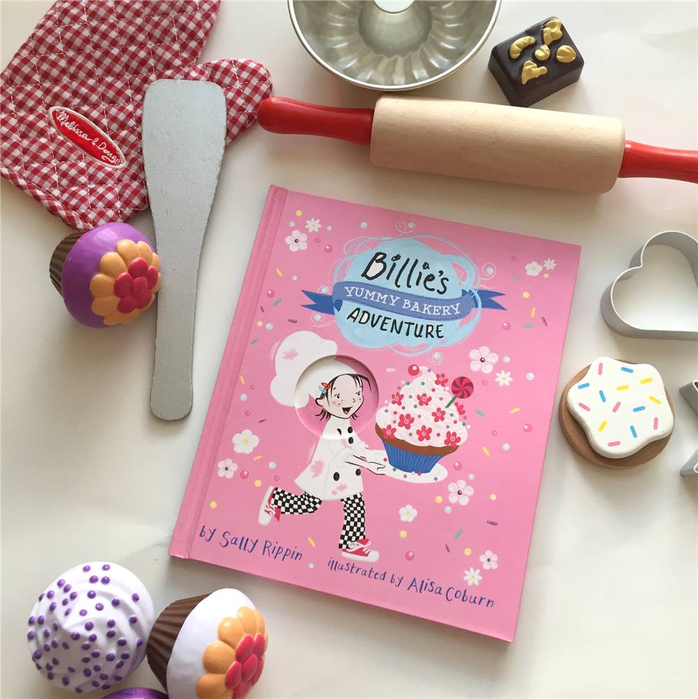 Billie has an amazing adventure in a bakery, but will her special pinkle dough be ruined? The illustrations and story in this book will draw your child into Billie's grand adventure!   After reading TOGETHER Bake something together or have a morning of pretend cooking in a play kitchen and talk about friendship. Has your child ever had an argument with a close friend? What did they do?    Find Billie's Yummy Bakery Adventure Here
