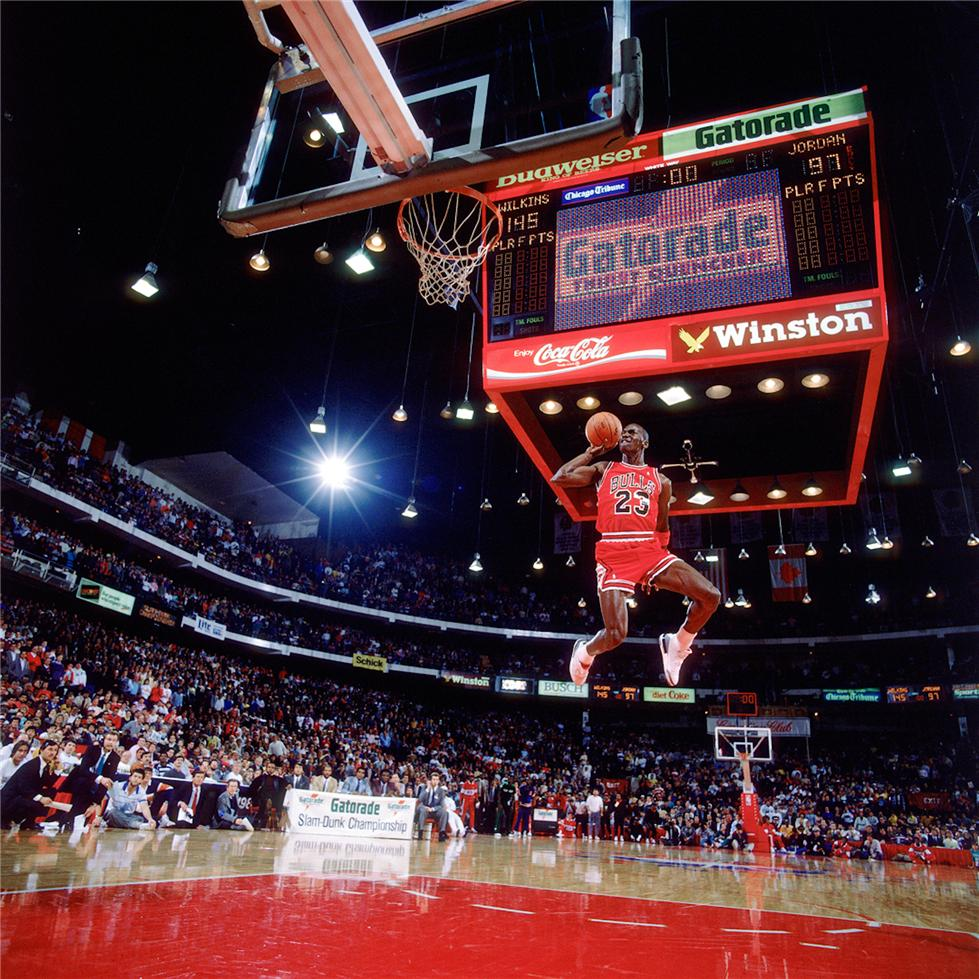 Watched Michael Jordan for the first time. - From that point on, I was in love with basketball. Little did I know this would be my first introduction to Nike my create my affinity for the brand.