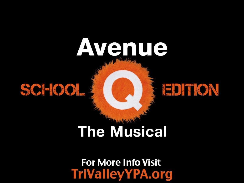 AVENUE Q SCHOOL EDITION - March 2014
