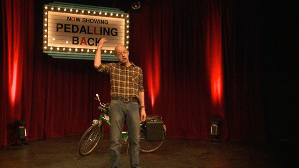 Jeff Michel in  Pedalling Back