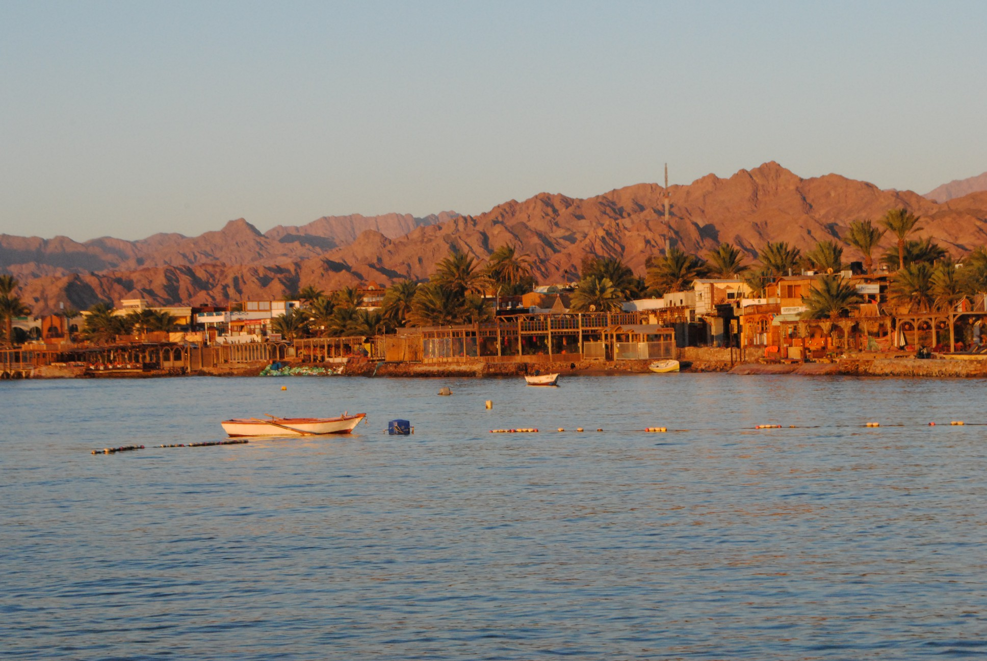 Sunrise over Dahab.