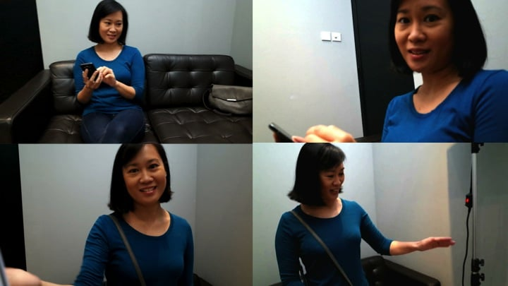 Casting session with Karen Bee Lin Tan