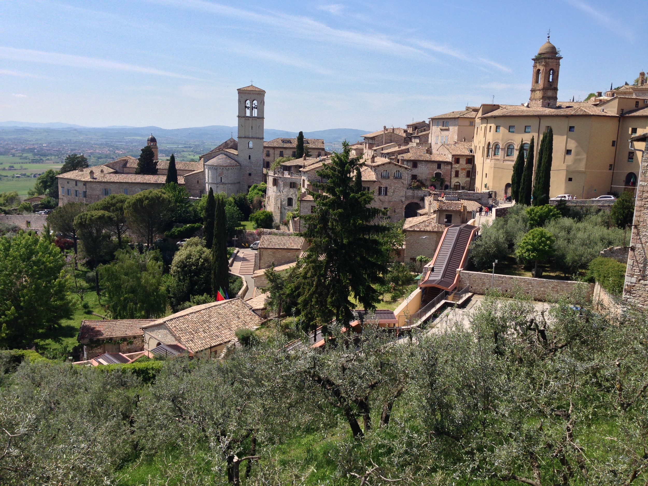 Hill town in Umbria