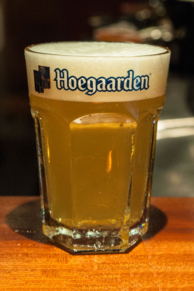 ヒューガデン   Belgian Witbier      4.5% ABV     On Tap