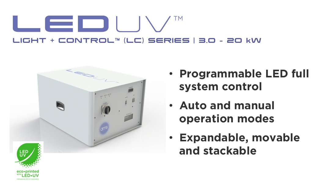 Light+Control (LC) LED UV Power Control Module