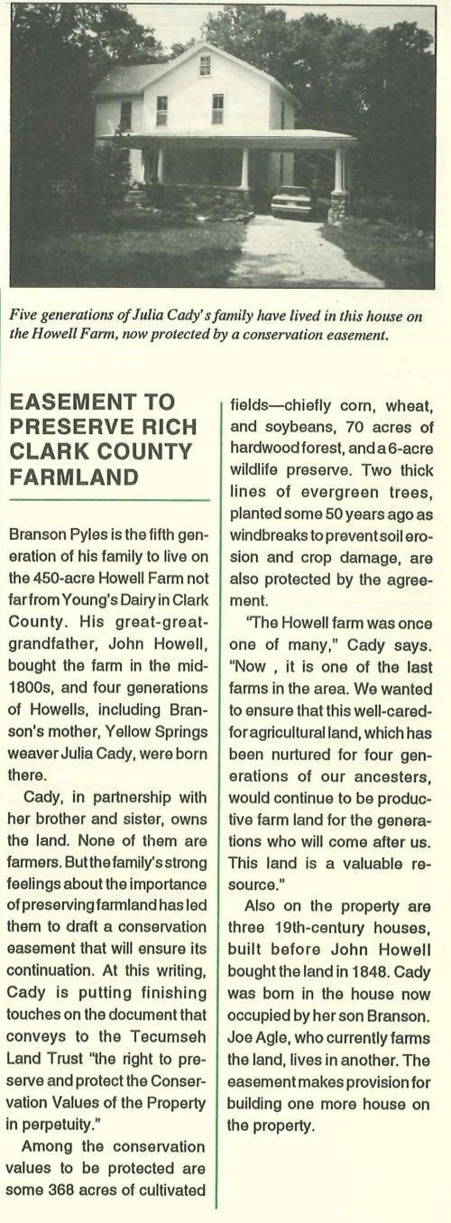 Howell Farm