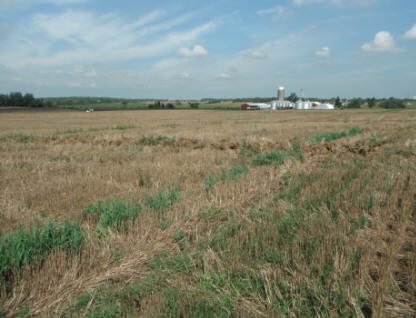 320 acres located in Harmony Twp, Clark County.  Easement purchased via FRPP.