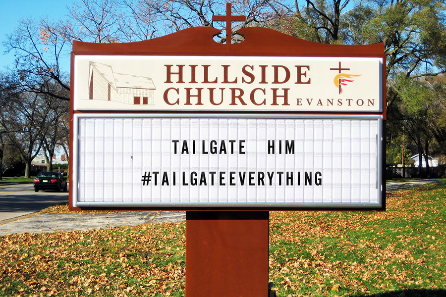 Tailgate Everything. Even church!